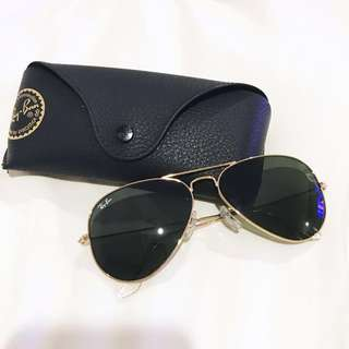 Ray-ban classic gold aviator