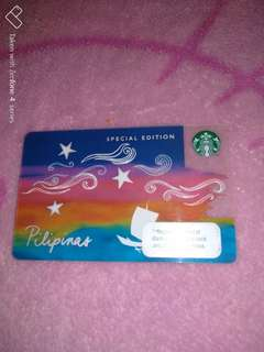 Starbucks 2018 Card Special Edition