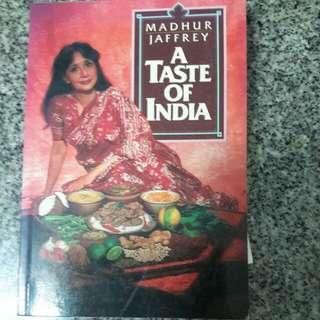 A TASTE OF INDIA BY MADHUR JAFFREY