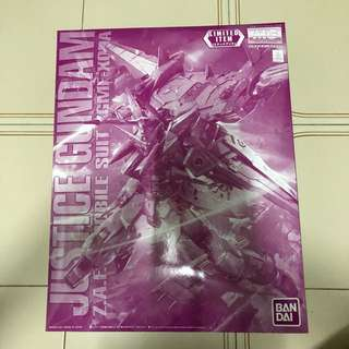 MG Gundam Justice Limited Item