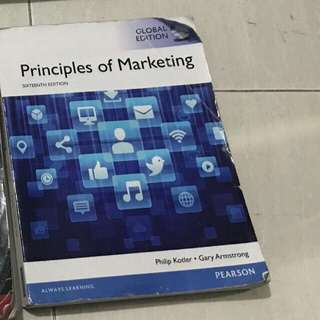 (ori) Principles Of Marketing Pearson 16 Edition