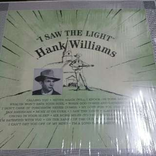 Vinyl Record / LP: Hank Williams ‎– I Saw The Light