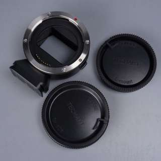 🚚 天工 TECHART EOS-NEX III三代 自動對焦CANON EF鏡頭轉NEX E卡口機身轉接環 a7 6500