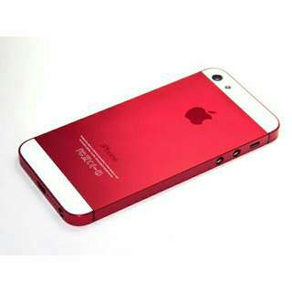 iPhone 5/5S/SE Housing Body Red Premium Metal