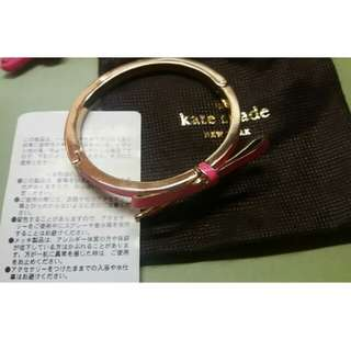Kate Spate 日版 蝴蝶結手鐲 Bangle