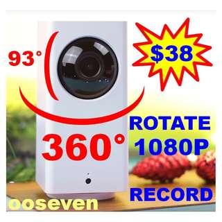 360° PAN TILT IP Camera CCTV Xiaomi WIFI MiJia DAFANG XIAOFANG XIAO FANG DA FANG BABY