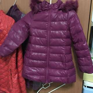 Winter down jacket for kid