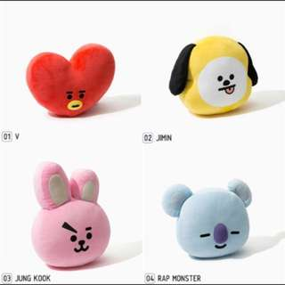 Unofficial BT21 Plushie