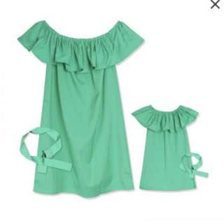 Mummy and 9-12M baby girl matching outfit