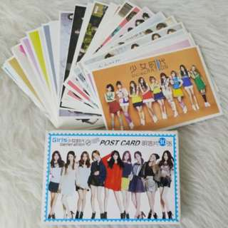 Girls Generation Postcard 28pcs