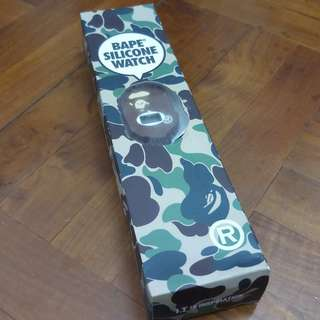 BAPE SILICONE WATCH