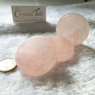 Rose Quartz Palm Stone (PS0002)