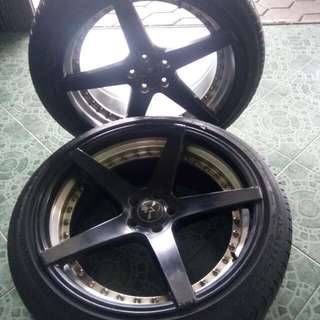 Velg plus Ban ring 20' (4pcs)