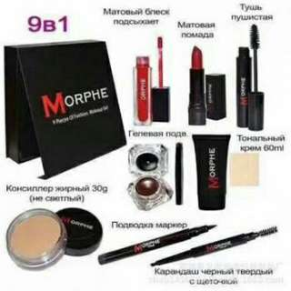 Morphe Set 9in1