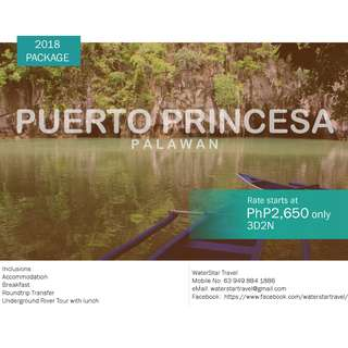 AFFORDABLE PUERTO PRINCESA, PALAWAN PROMO PACKAGE