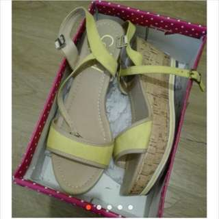 So fab Wedge Yellow Size 40