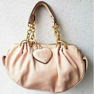 AUTHENTIC JUICYCOUTURE GENUINE LEATHER BAG
