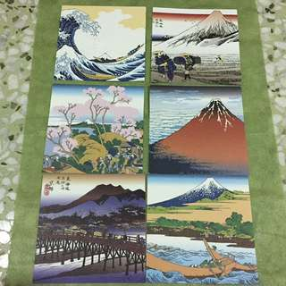 Japanese arts theme origami papers