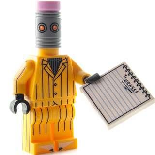 Lego Eraser 71017 Batman Movie Series Minifigures Rubber