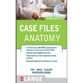 Ebook Case Files Anatomy, Second Edition