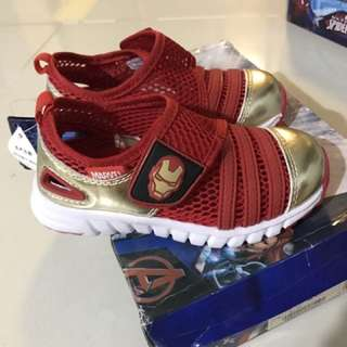 Iron man red shoes size 27