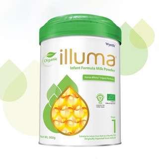 Illuma 1號有機奶粉