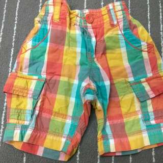 Mothercare short pant, 2-3T (Preloved)