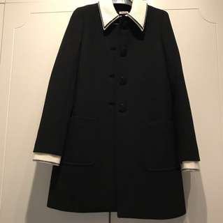 Nearly New Miu Miu wool coat sz38