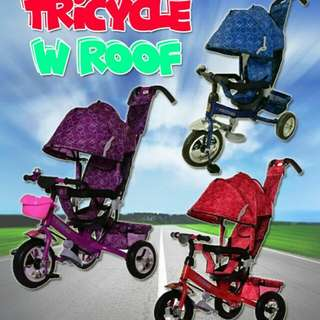 Tricycle wit roof