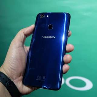 Oppo f5 blue new edition