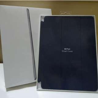 全新 iPad Wi-Fi 128GB Gray 未開封 保養至2019年 連原裝 Apple Smart Cover
