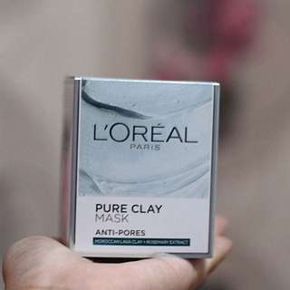 Loreal Pure Clay Mask (Anti-pores)
