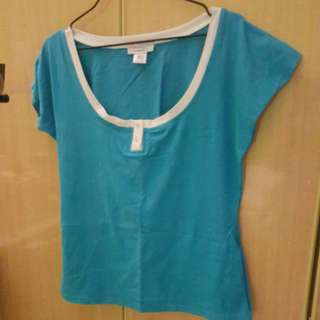 Nursing Top blue