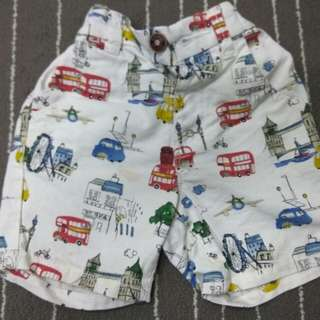 Next short pants, 1.5-2T/ 18-24M (Preloved)