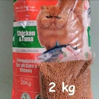 Maxi makanan kucing Repack 2kg