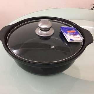 電磁爐沙鍋