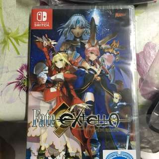 Fate Extella for Nintendo switch