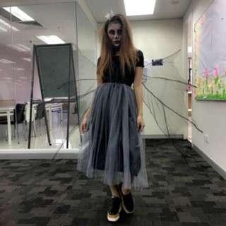 Long tutu skirt!