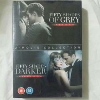 [Movie Empire] Fifty Shades Of Grey / Fifty Shades Darker Movie DVD Set