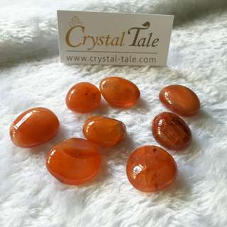 Energy Charger for Crystals - Carnelian Tumble (0149-XS)