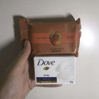 Body Shop and Dove