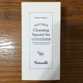 Tony Moly goat milk cleansing special set