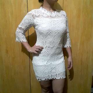 Lace Dress (excellent condition)