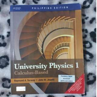 University Physics 1 (Calculus-Based)