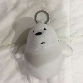 We Bare Bears Ice Bear Keychain