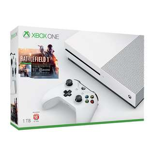Xbox One S - 1 TB console with Battlefield Game