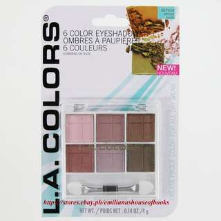 6 COLORS EYESHADOWS MAKEUP COSMETICS #BEP 434 ALMOST NUDE