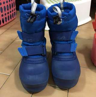 Montbell snow boots for kid (waterproof)