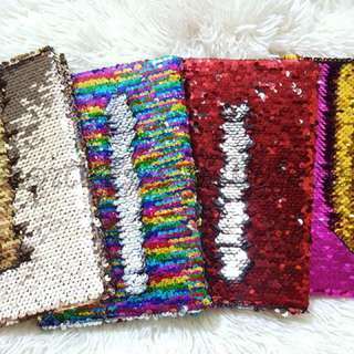 Sequins notebook