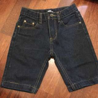 5-6yrs old short jeans